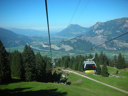 Gondola Lift Bad Ragaz